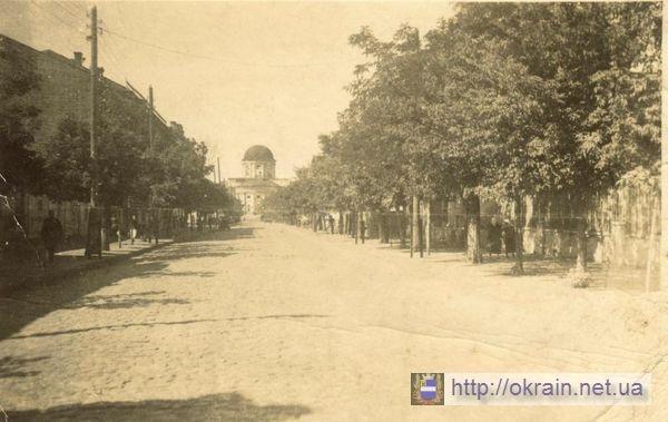 Екатерининская улица в Кременчуге Вид на Соборную площадь - фото № 269