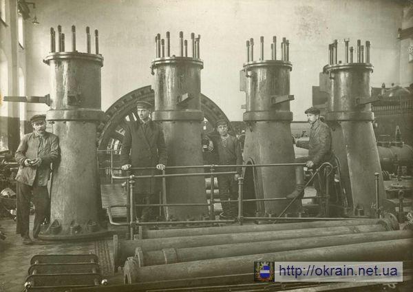 Кременчугская электростанция разрушенная Деникинцами в 1919 году - фото № 291