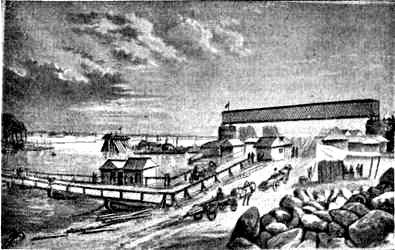 Постройка моста Харьковско-Николаевской железной дороги через Днепр Кременчуг - фото №66