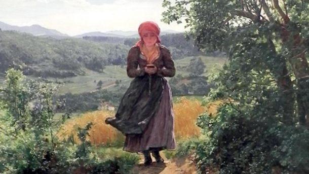 На картине 1860-го года «увидели» смартфон