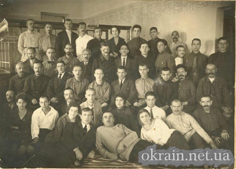 Работники Кременчугского отделения коммунального хозяйства 1936 год - фото № 298