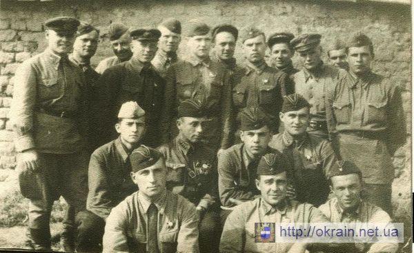 Лётчики 282 истребительного полка авиадивизии - фото № 334