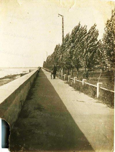 Набережная Днепра в Кременчуге Фото 1941 года - фото № 246