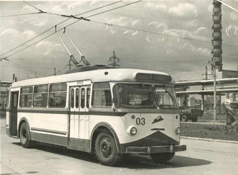 Троллейбус «Киев-4»  Кременчуг 1967 год - фото № 254