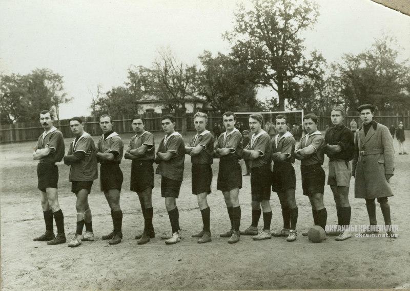 Первая футбольная команда 1924 год - фото № 302