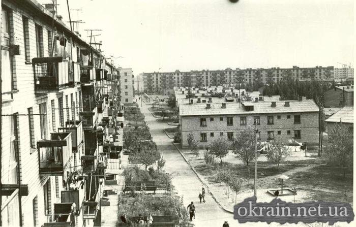 Поселок Молодежный в 1967 году - фото № 412