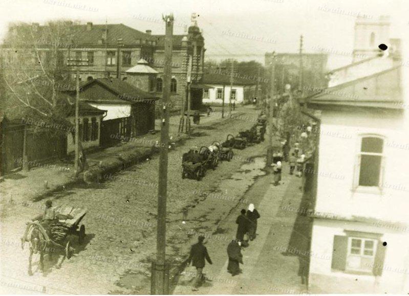 Улица Пушкина в Кременчуге 1930 год - фото № 252