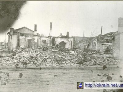 Руины табачной фабрики в Кременчуге 1943 год – фото № 361
