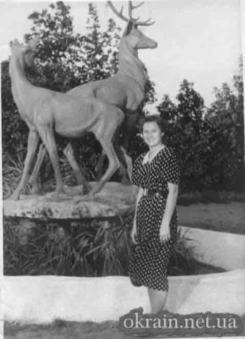 Скульптура «Олени» в Приднепровском парке - фото № 427