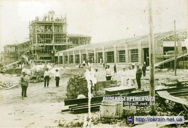 Строительство суконной фабрики 1929 год - фото №360