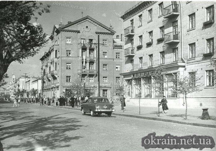 Улица Ленина в Кременчуге 22 августа 1962 года - фото № 397