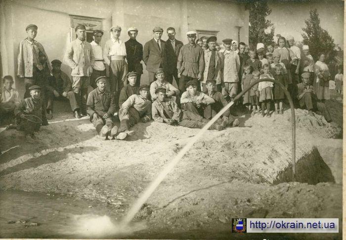 Участники строительства водопровода на Щемиловке 1924 год - фото № 374