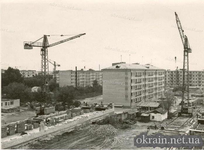 Застройка центра города Кременчуга после войны - фото № 421