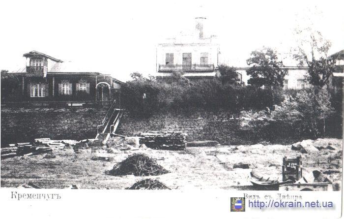 Кременчуг вид с Днепра - фото № 535
