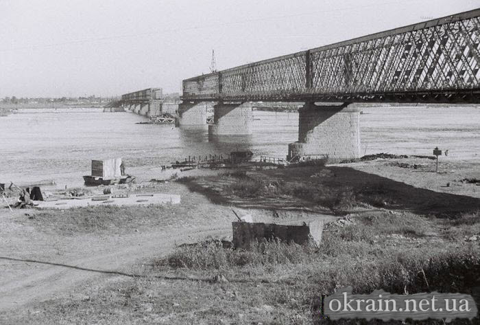 Немецкое фото моста с Крюкова 1941 - фото № 518