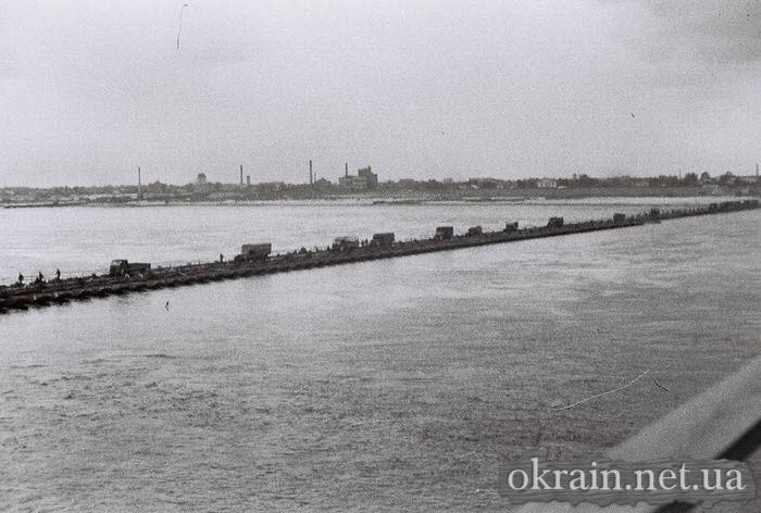 Фото Кременчуга с Крюковского моста 1941 год - фото № 521