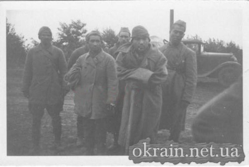 Пленные русские солдаты в Кременчуге - фото № 572