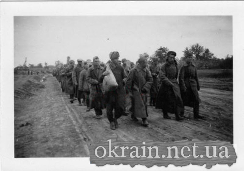 Пленные русские солдаты в Кременчуге - фото 578