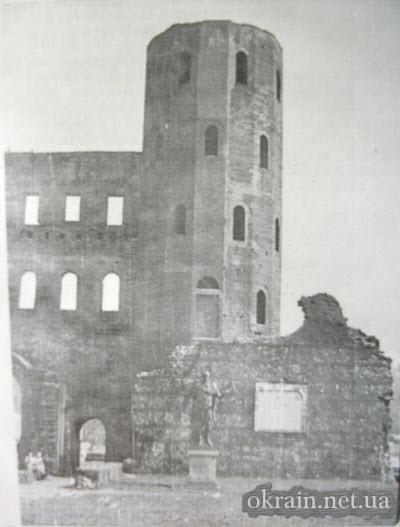 Руины водонапорной башни 1943 год - фото 622