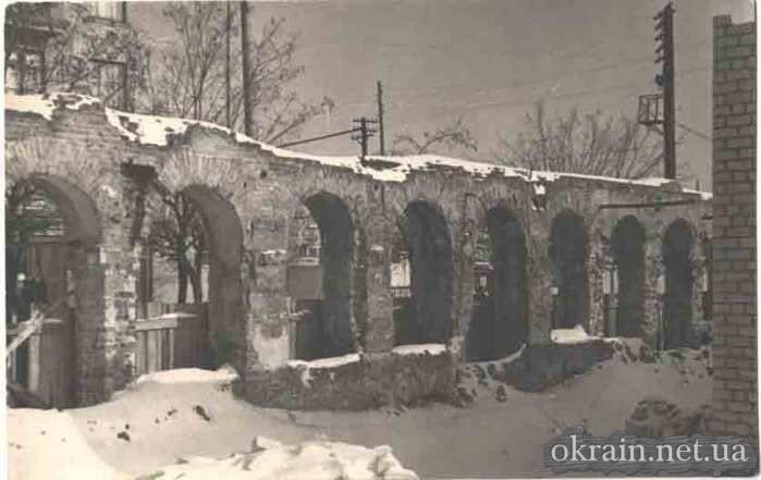 Развалины в Кременчуге 1960 год - фото 625