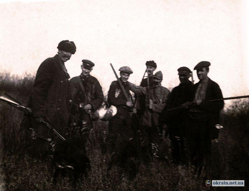 Охотники в районе Псла осень 1933 года - фото 634