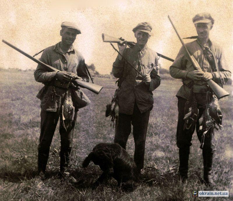 Охотники в районе Псла осень 1933 года - фото 635