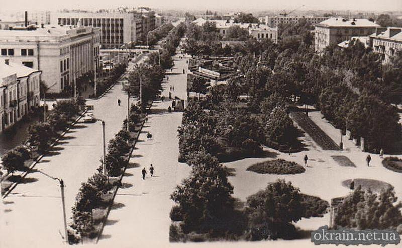 Кременчуг - Улица Ленина - 1960-1970 года - фото 639