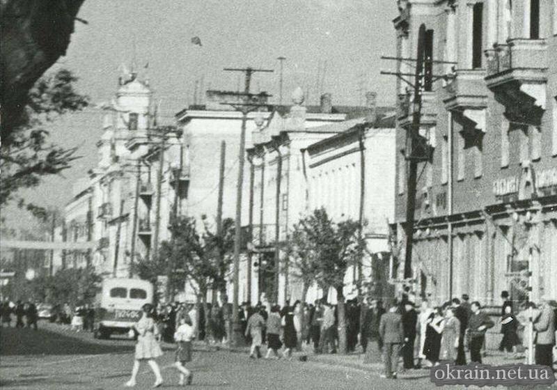 Кременчуг - Улица Ленина - август 1962 год - фото 640