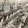 Вид с портального крана на здание ГЭС – апрель 1959 год – фото 660