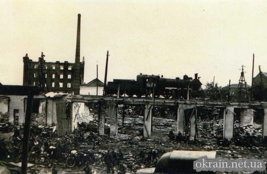 Район моста - Крюков - 1941 год - фото 662