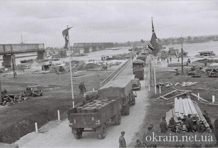 Фото с берега немецкой переправы 1941 год - фото № 515