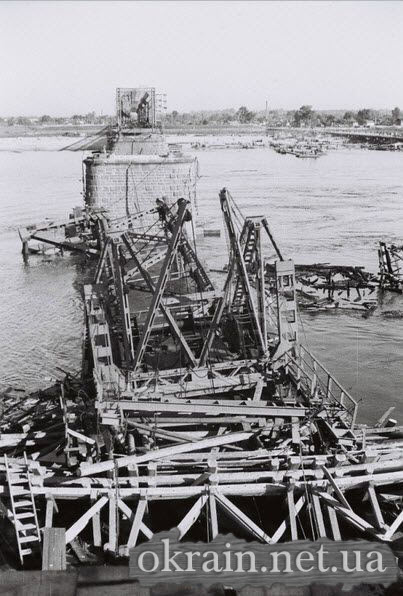 Фото с опоры моста в Кременчуге 1941 год - фото № 513
