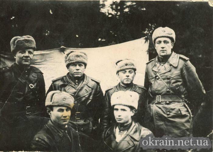Командиры 780 стрелкового полка во время освобождения Кременчуга - фото № 466