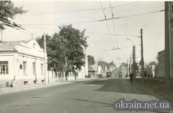 Нагорная часть Кременчуга в начале 70-х - фото № 437