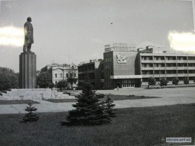 Площадь Победы. Кременчуг 1983г – фото 707