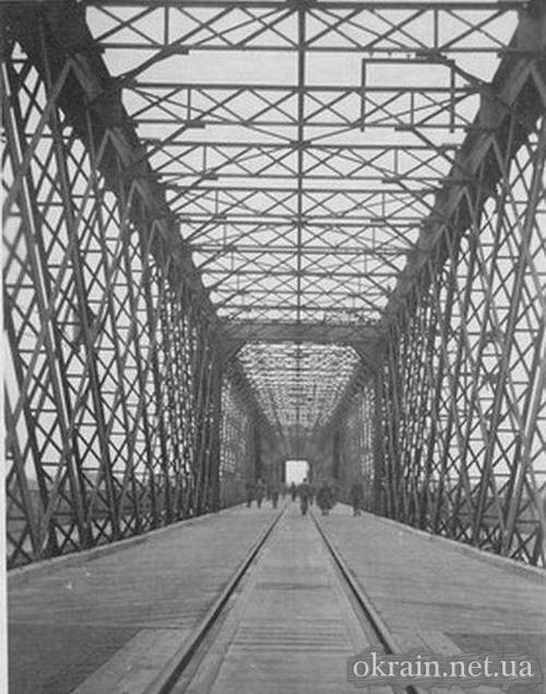 Немецкие солдаты восстановили мост в Кременчуге - фото 736