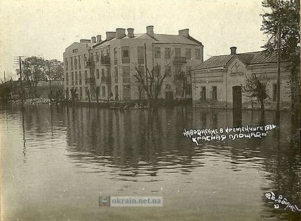 Красная площадь в Кременчуге 1931 год - фото 786