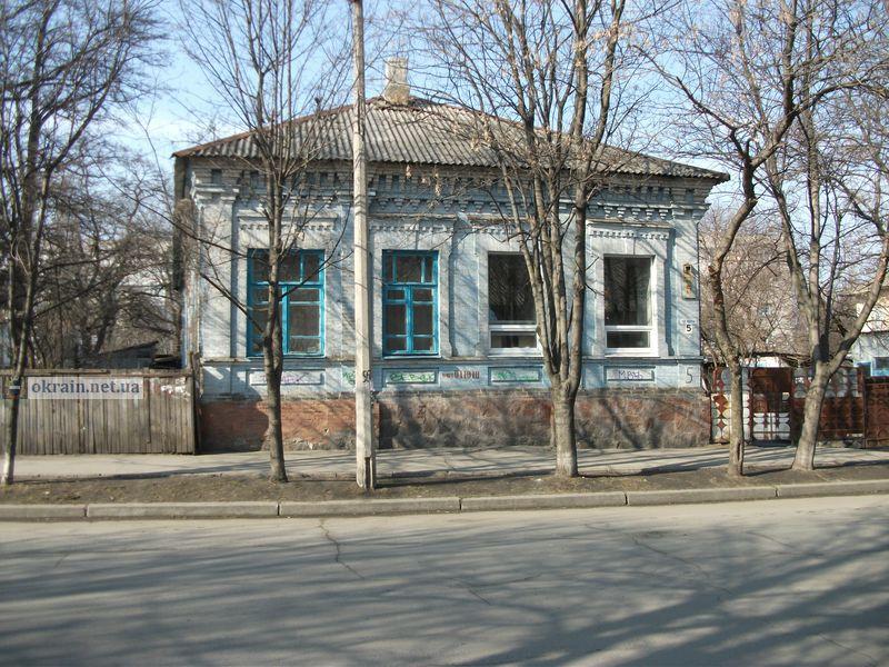 Старый дом №5 по улице Красина в Кременчуге - фото 789