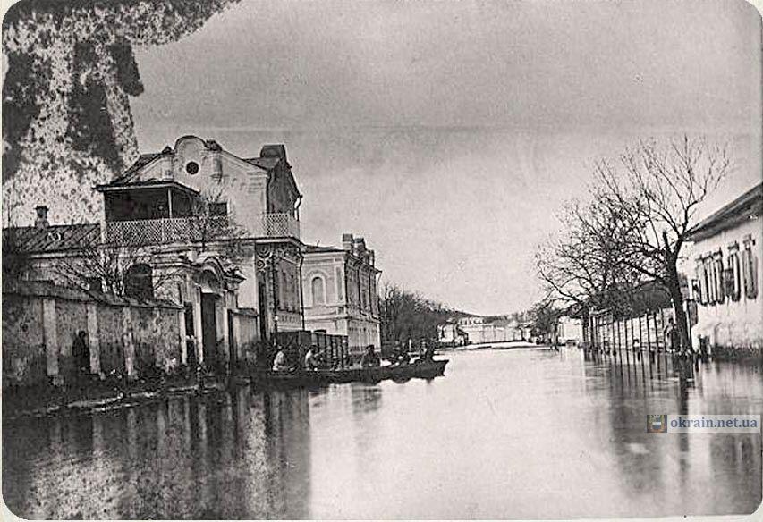 Вид по улице Преображенской 1877 год - фото 843