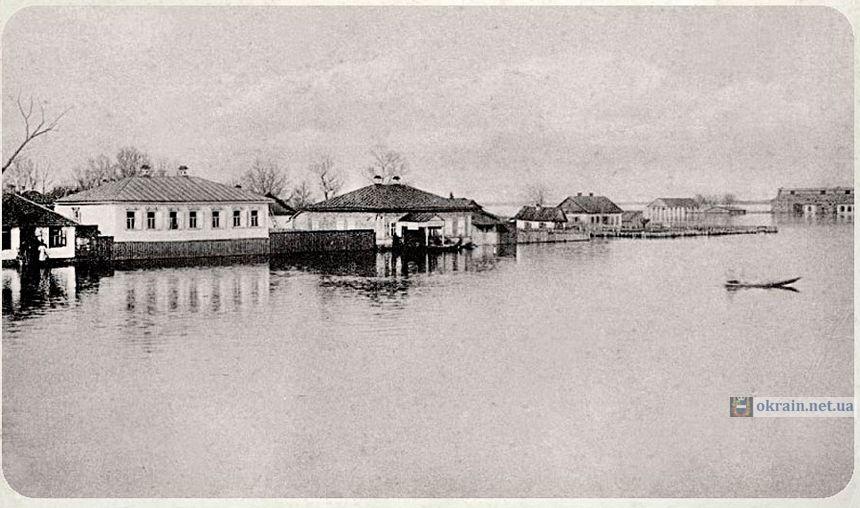 Окраина города Кременчуга 1877 год - фото 847