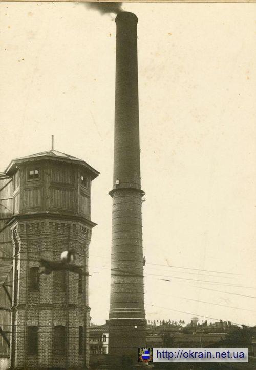 Труба Кременчугской электростанции 1924 год - фото № 470