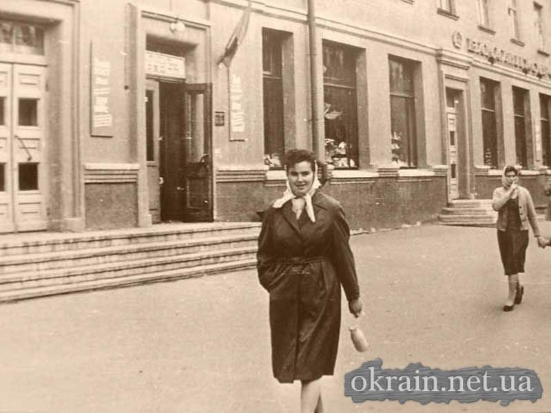 Улица Ленина в 50-60 года, напротив Дома Офицеров - фото № 433