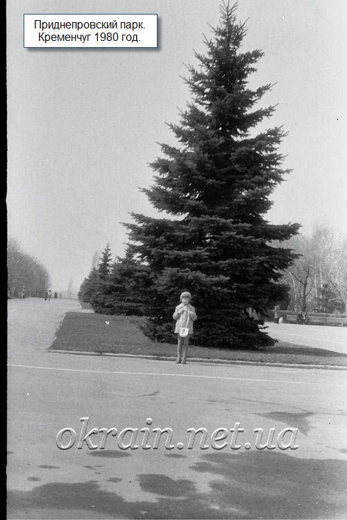 Парк «Приднепровский». Кременчуг 1980 год - фото 1173