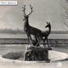 The sculpture The Deer in Pridneprovsk park Kremenchug photo number 1210