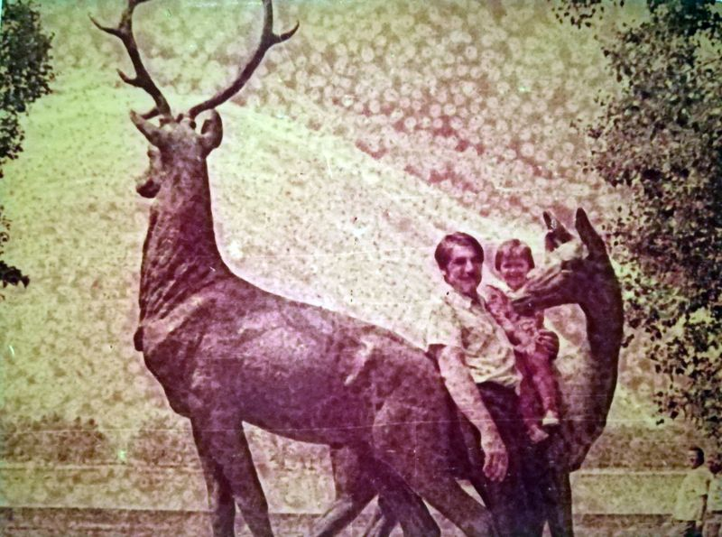 Скульптура «Олени» в Приднепровском парке Кременчуг - фото № 1967