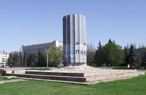 Демонтировали «Стакан» в Кременчуге с третьей попытки