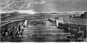 Военные маневры в Кременчуге 1787 года