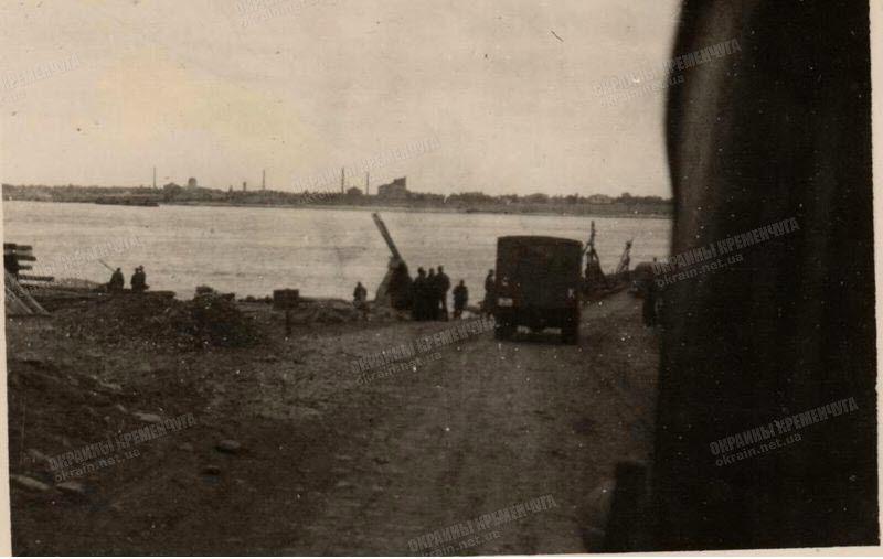 Дорога на переправу через Днепр - фото №1807