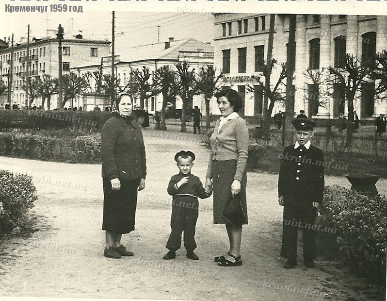 Улица Ленина Кременчуг 1959 год - фото 1579