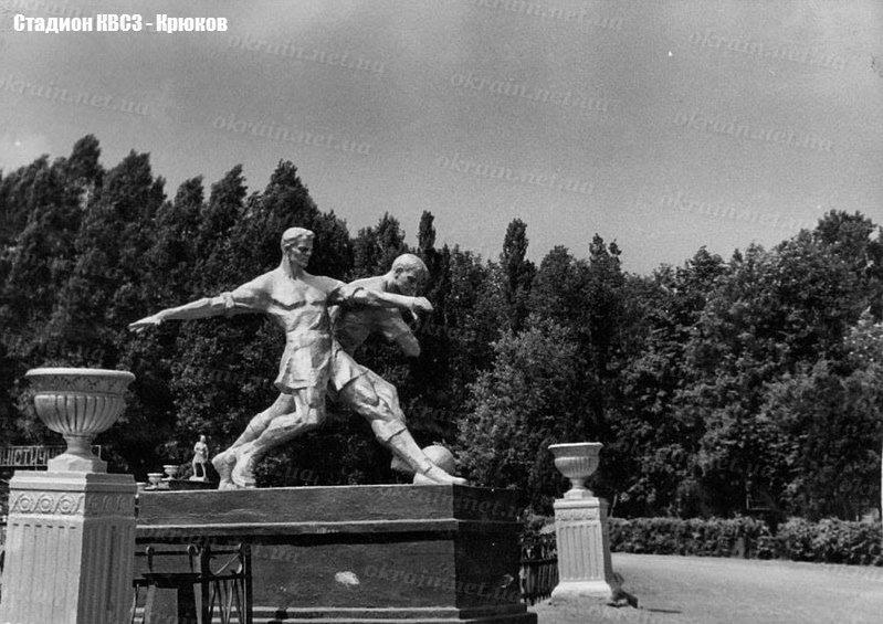 Скульптурная группа «Футболисты» - фото 1583
